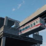 シティーズ・スカイライン Suspended Monorail Shonan 500 Series 湘南モノレール 500形 MOD