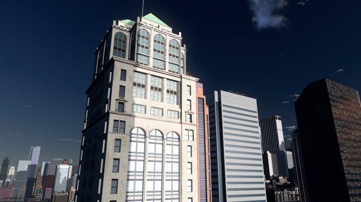 シティーズ・スカイライン Candler building NY市 キャンドラー・ビル  MOD