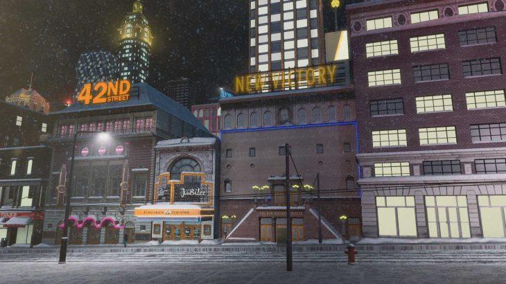 シティーズ・スカイライン New victory theater NY市 ザ・ニュービクトリーシアター MOD