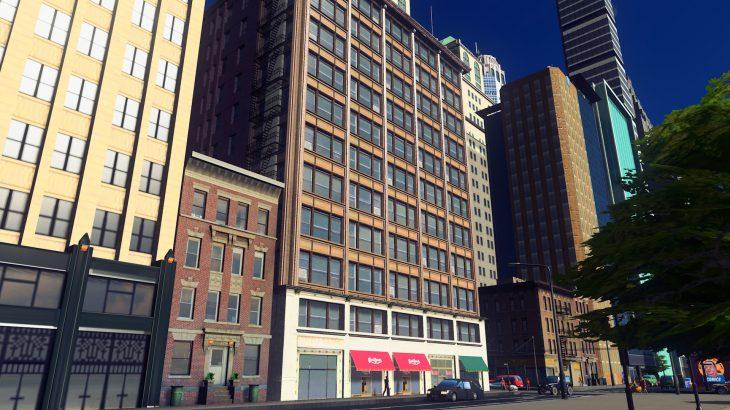 シティーズ・スカイライン Brooks building シカゴ市 ブルックスビル MOD