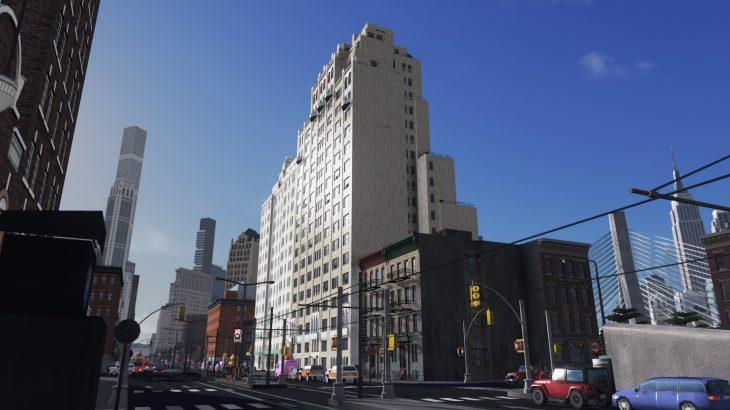 [MOD] 245 East 72nd street NY市 30年代スタイルのコンドミニアム