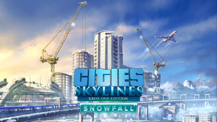Cities: Skylines コンソール版 Snowfall DLCが発売開始