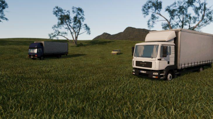 シティーズ・スカイライン Short Grass 短い芝生のMOD