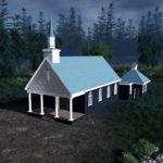 シティーズ・スカイライン TWD Alexandria Church ウォーキング・デッド アレクサンドリアの教会