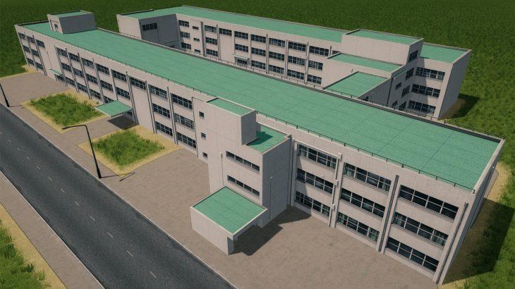 シティーズ・スカイライン Japanese High School 日本高校 MOD