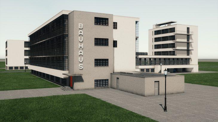 シティーズ・スカイライン Bauhaus Dessau ドイツ バウハウス・デッサウ校 MOD
