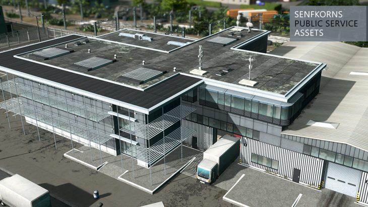 シティーズ・スカイライン Freight Terminal カッコイイ貨物ターミナル