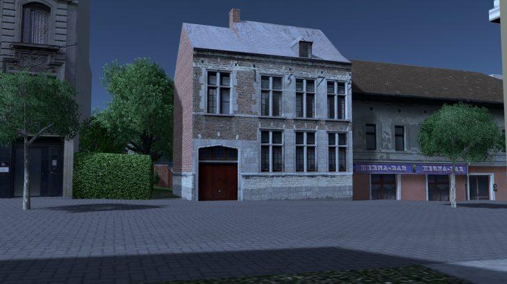 シティーズ・スカイライン Nivelles Town House 1 ベルギー・ニヴェルの伝統的建物 MOD