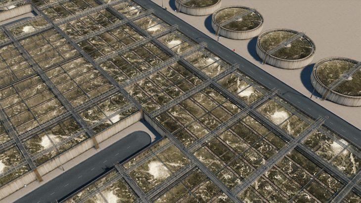 シティーズ・スカイライン Water Treatment 下水処理施設追加MOD