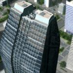 シティーズ・スカイライン Bank Of Skylines 曲線が美しい超高層ビル