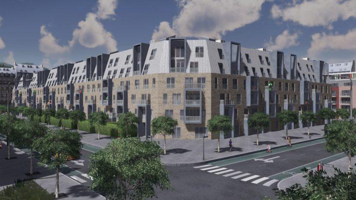 シティーズ・スカイライン Modern Mid-rise Flats モダンな中層住宅 MOD
