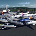 シティーズ・スカイライン Better Planes Pack | Jumbo Jets (PROPS INCLUDED) 飛行機追加 MOD