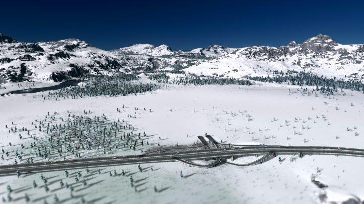 シティーズ・スカイライン Winterlust – Somewhere in the Alps 冬のアルプスマップMOD
