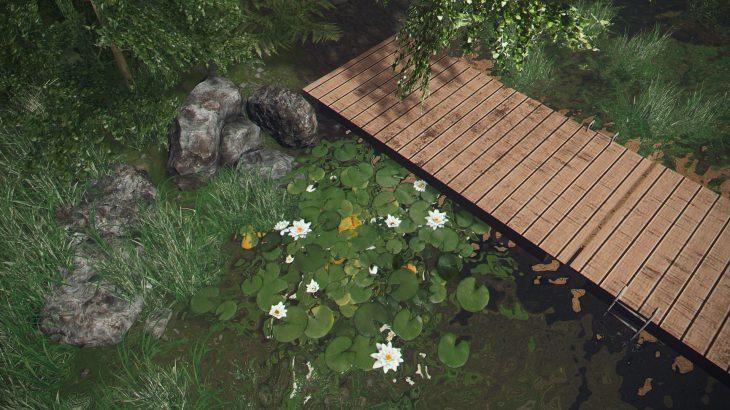 シティーズ・スカイライン White Water Lily (Cluster) スイレンの追加MOD