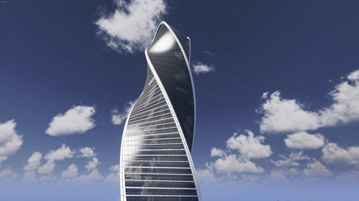 シティーズ・スカイライン Evolution Tower モスクワ・エボリューションタワーMod