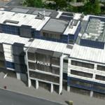 シティーズ・スカイライン Police Headquarters モダンな警察本部