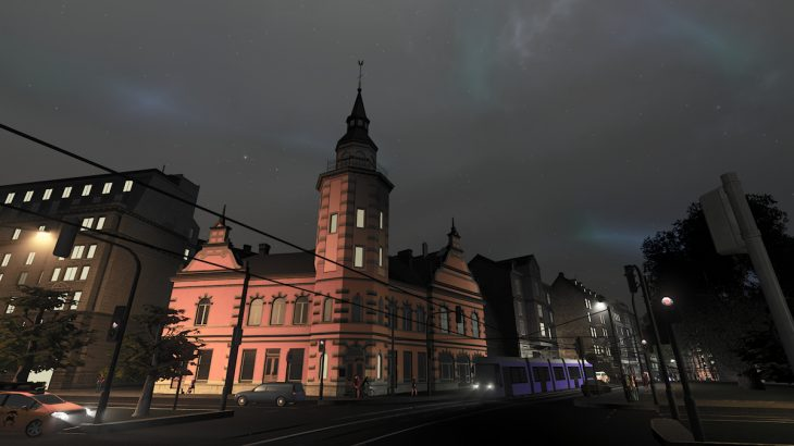 シティーズ・スカイライン Rauma Town Hall 120度コーナーに合う市庁舎Mod