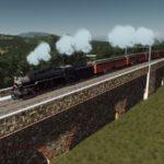 シティーズ・スカイライン Elevated Wall Train Track and Arch Bridge – Part 1 石造りの鉄道高架Mod