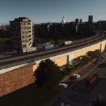 シティーズ・スカイライン Four-Lane Elevated Brick Road and Arch Bribge レンガ造りの4車線高架Mod