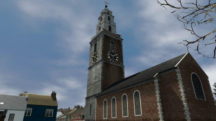 シティーズ・スカイライン Church of St Anne, Shandon アイルランド・コーク 聖アン教会 Mod