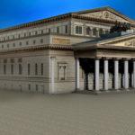 シティーズ・スカイライン Grand Theatre(The Bolshoi) ボリショイ劇場Mod