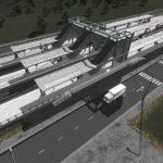 シティーズ・スカイライン Tomashavn Train Station (4-track)  4線路駅Mod