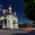 シティーズ・スカイライン Archangel Cathedral ofthe Moscow  聖天使首大聖堂Mod