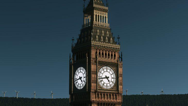 シティーズ・スカイライン Big Ben, London ビッグ・ベン Mod