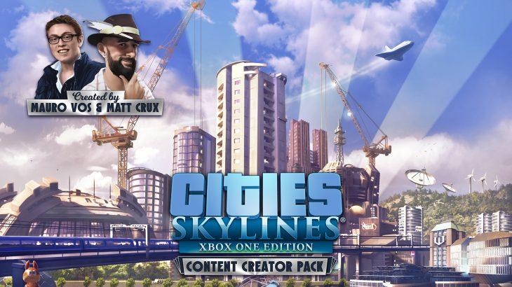 Cities: Skylines家庭用機向けにContent Creator packがリリース予定