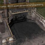 シティーズ・スカイライン Oil Refinery Delayed Coker 残油熱分解装置Mod