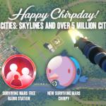 Cities: Skylines 3周年記念で無料の火星をテーマにしたコンテンツが配信