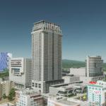 シティーズ・スカイライン Quad's Central World Series 2 高層ビルを組み合わせて巨大複合施設を作るMod