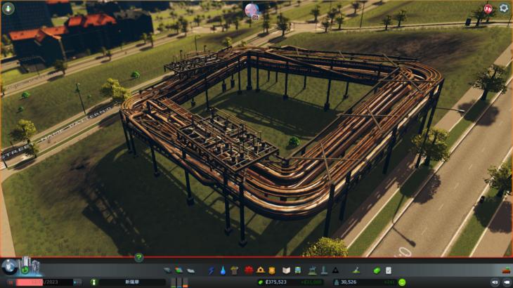 シティーズ・スカイライン Industrial Pipeline 大規模パイプラインMod