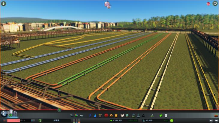 シティーズ・スカイライン Industrial Pipeline – Distribution Pipeline 産業用カラーパイプラインMod