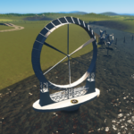 シティーズ・スカイライン NTE – Titan – Wind & Geothermal Energy – 80MW フロート型巨大発電装置
