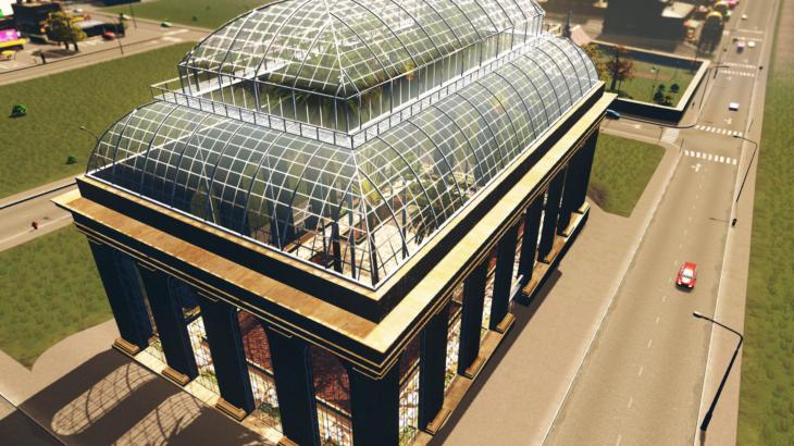 シティーズ・スカイライン Victorian Palm House ビクトリア調・ヤシの木の温室庭園