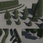 シティーズ・スカイライン 洋風庭園造りに役立つ、植え込みModを紹介