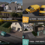 [Mod]新DLC Cities: Skylines – Industries向け、郵便関連Mod10個