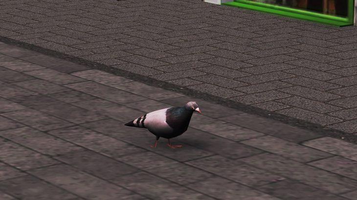[Mod]シティーズ・スカイライン pigeon 街に鳩を配置する