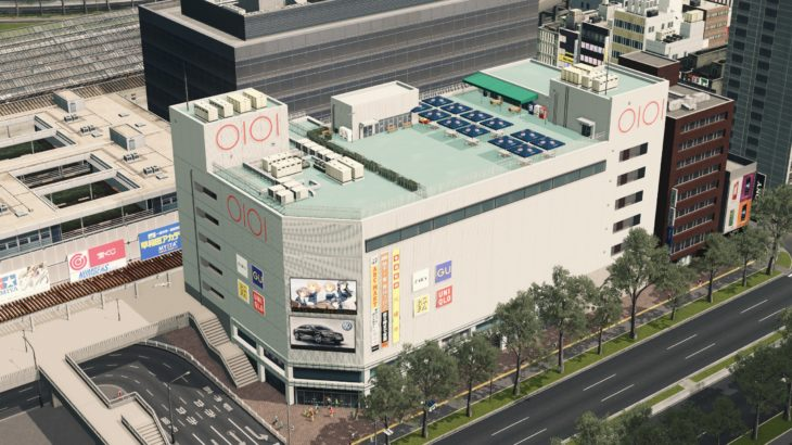 シティーズ・スカイライン 日本風の街並みを再現するMod紹介 その6