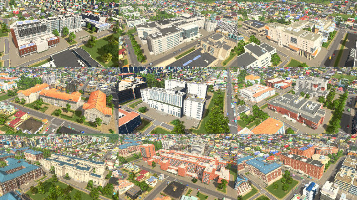 Cities: Skylines Campus 開発日記 #3:学年度、イベント、学部