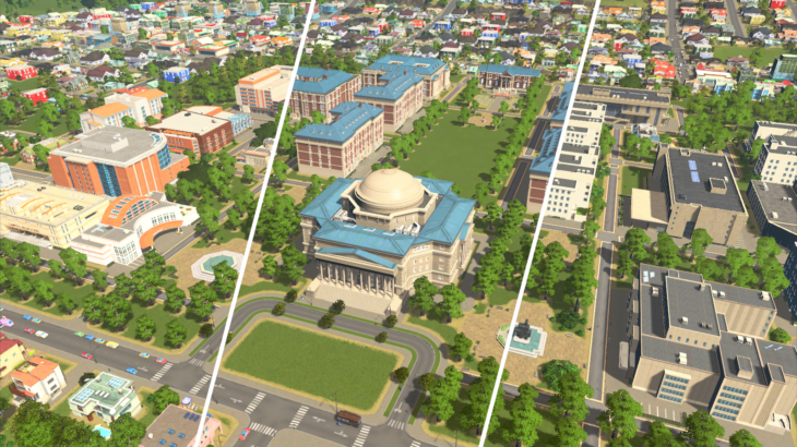 Cities: Skylines Campus 開発日記 イントロダクション