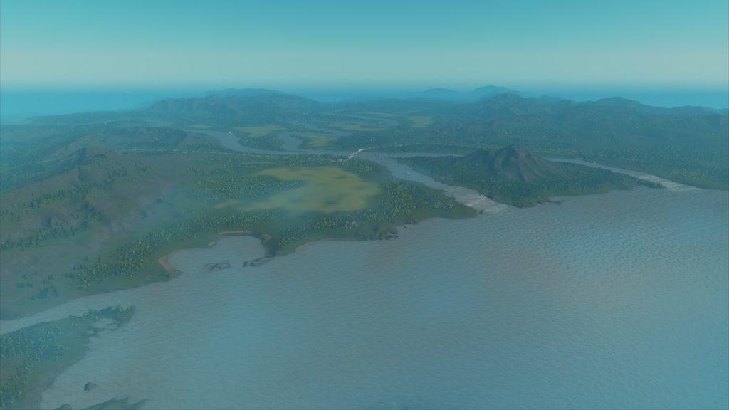 Murky Coastの地図