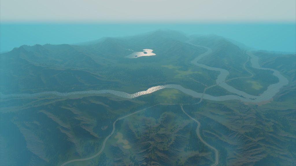 Wolf Creekの地図