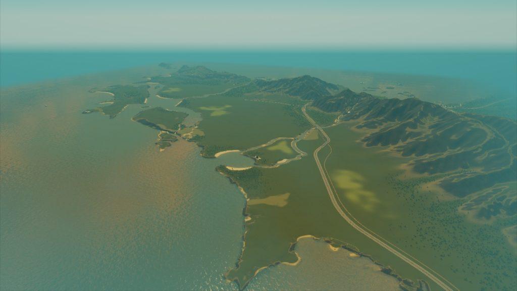 Roslyn Peninsulaの地図